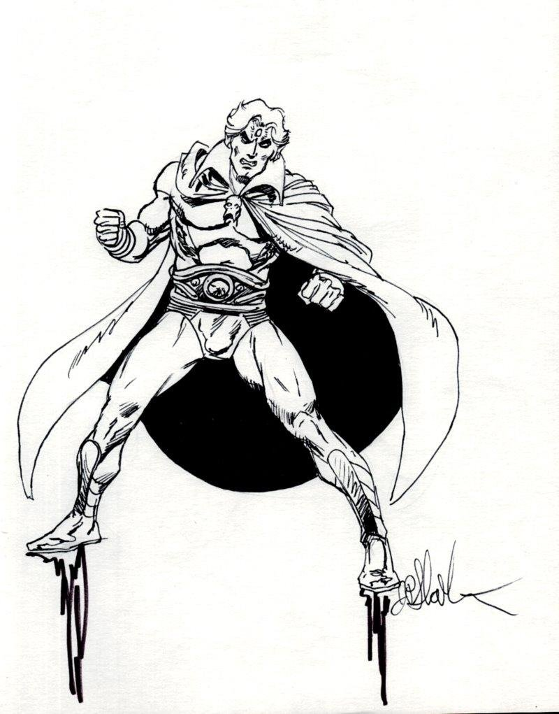 Warlock Pinup