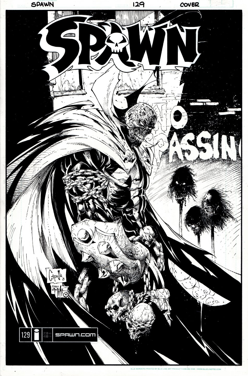 Spawn #129 Cover (2003)