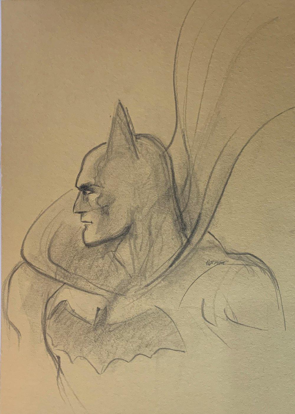 Very Large Batman Pinup