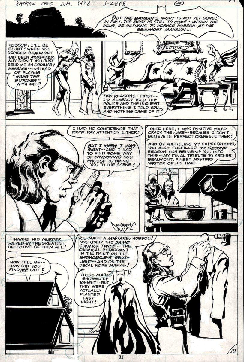 DC Special Series #15 p 29 (Batman In 3 Biggest Panels!) 1978
