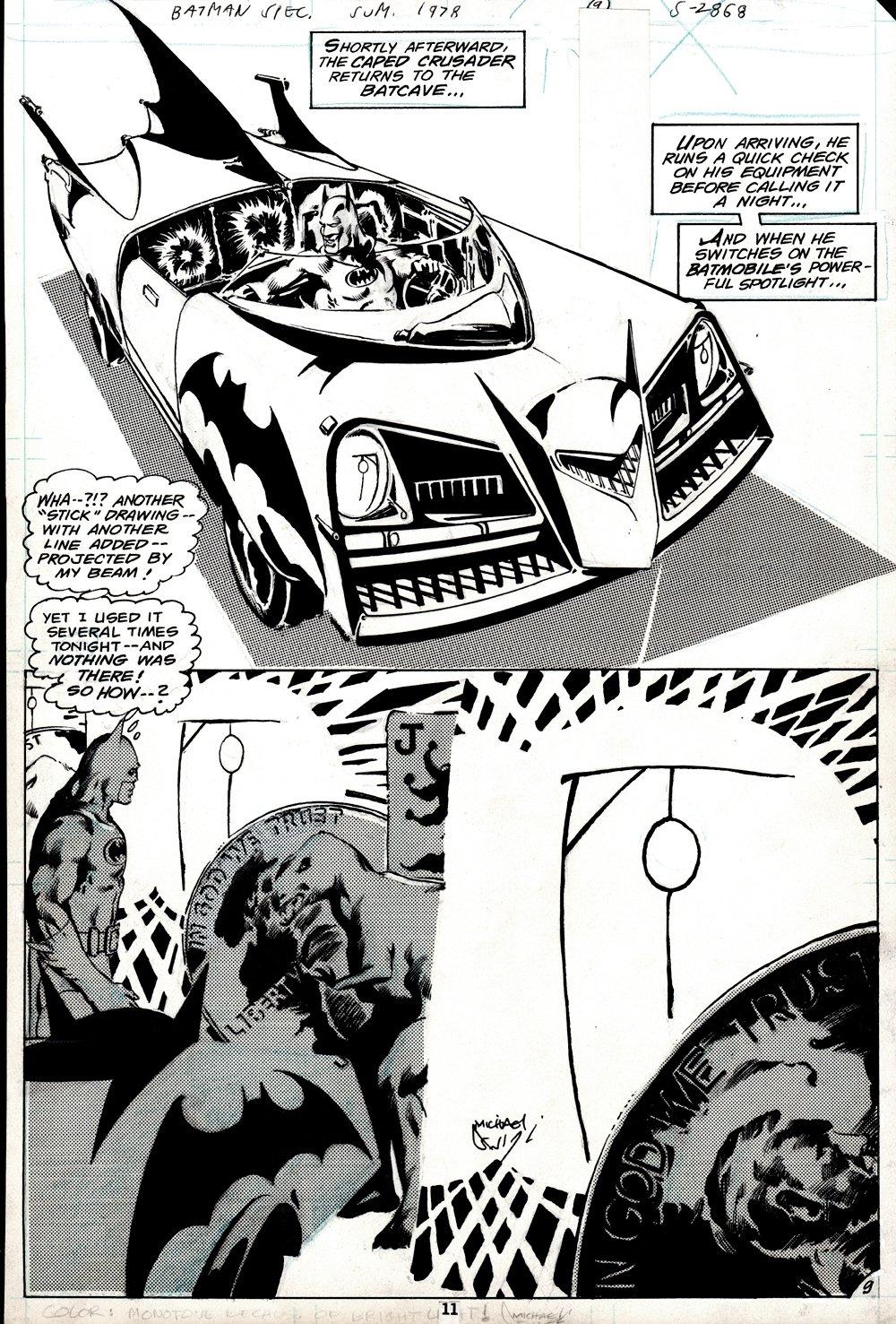DC Special Series #15 p 9 Semi-Splash (1978)