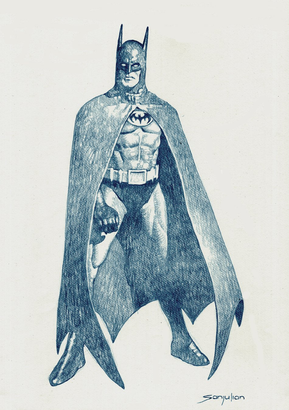 Batman Detailed Large Pinup