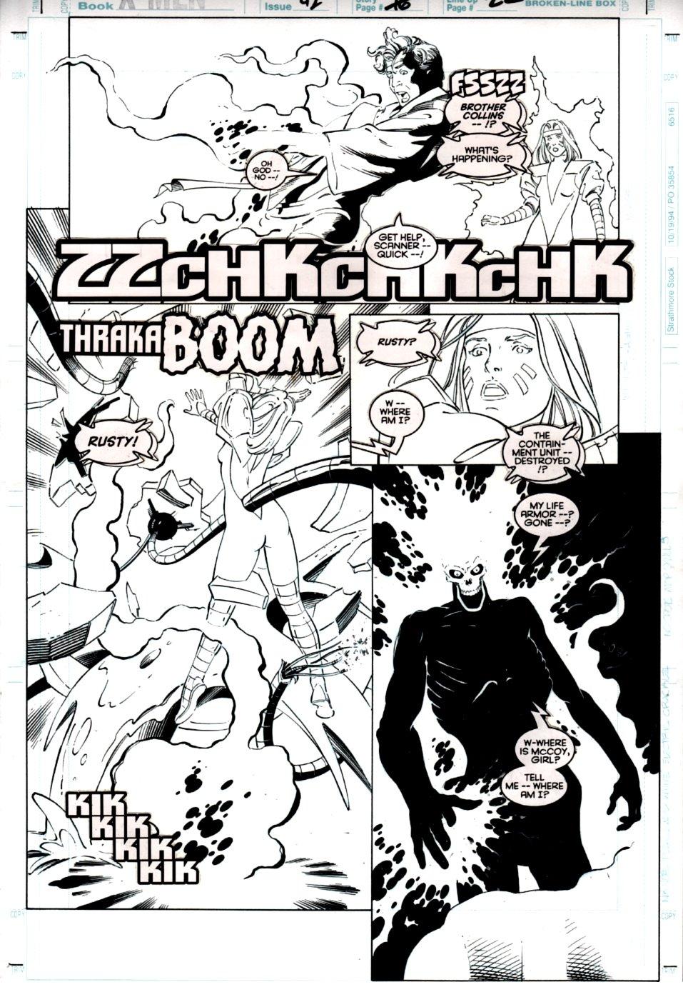 X-Men #42 p 22 (Scanner, Rusty Collins, Holocaust! (1995)