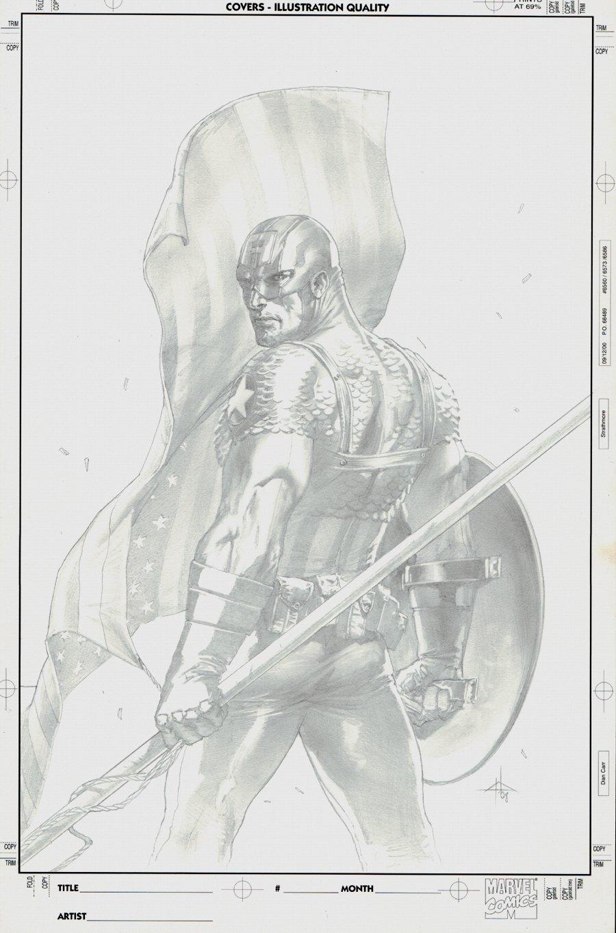 Ultimate Origins #2 (Captain America) Cover 2008