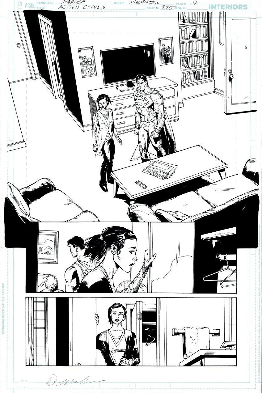 Action Comics #975 p 4 SPLASH (Superman & Lois Lane!) 2017