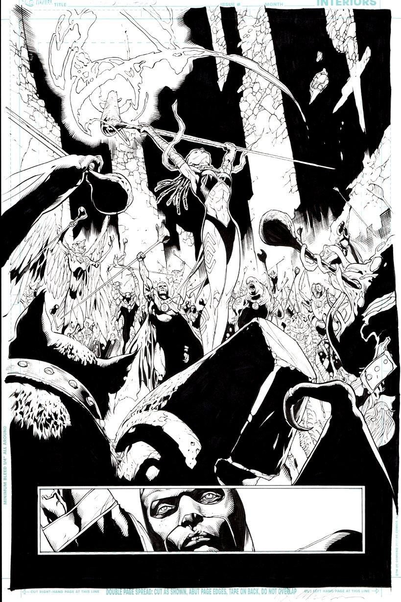 Green Lantern #7 p 2 SPLASH (Indigo Tribe) 2012