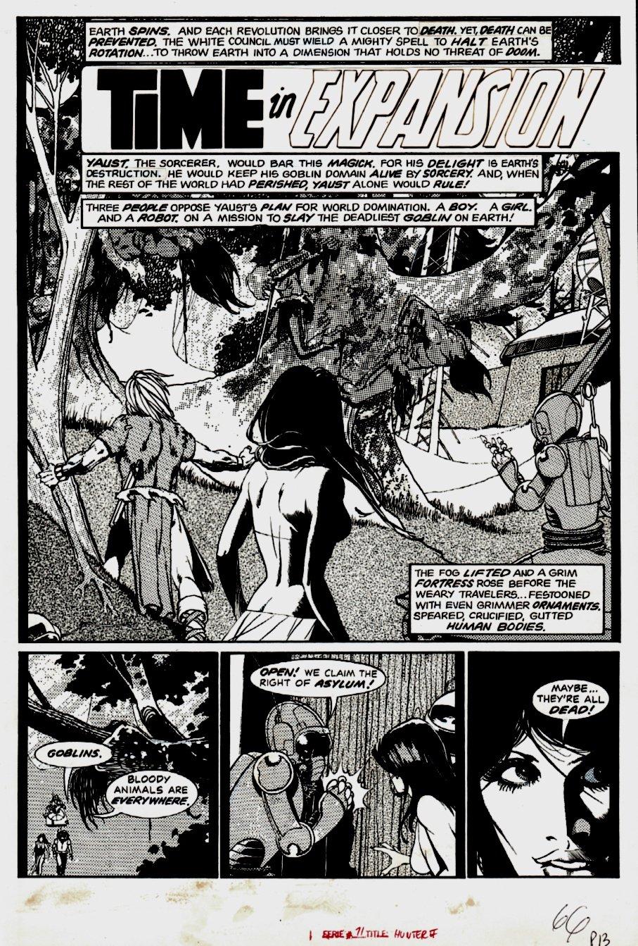 Eerie #71 p 1 SPLASH (1975)