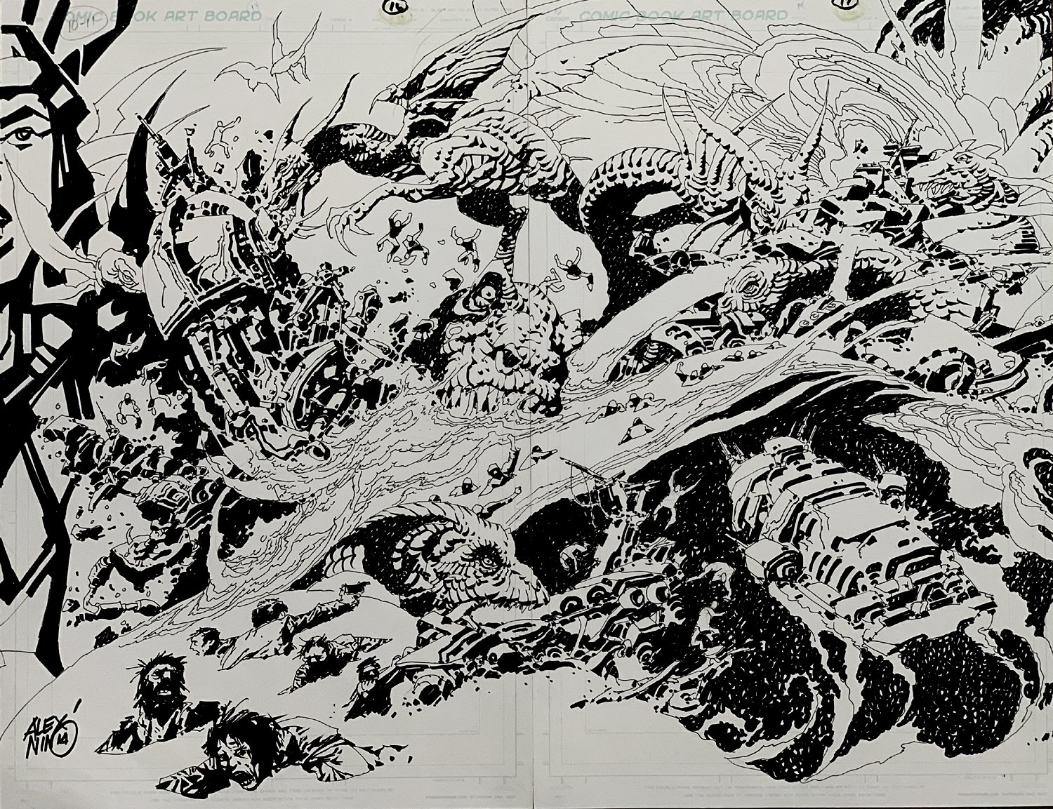 Time Machine 2: Search For Dinosaurs Double Spread Splash