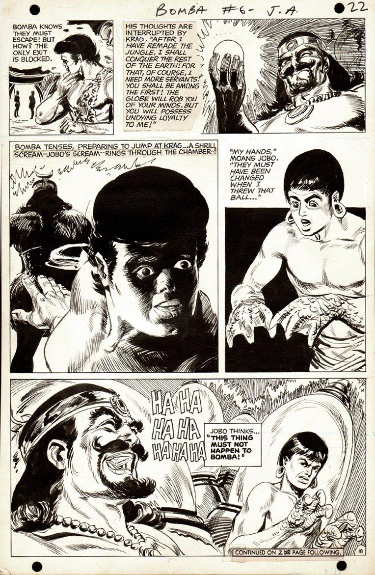 Bomba the Jungle Boy #6 p 18 (1968)