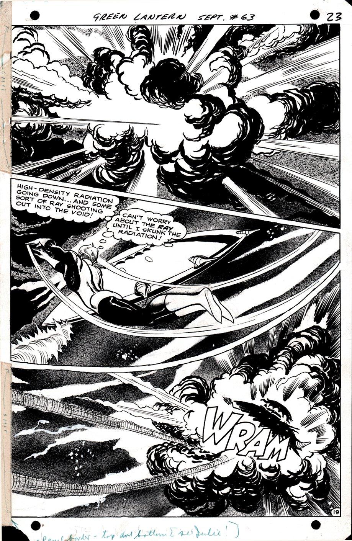 Green Lantern #63 p 19 SPLASH (1968)