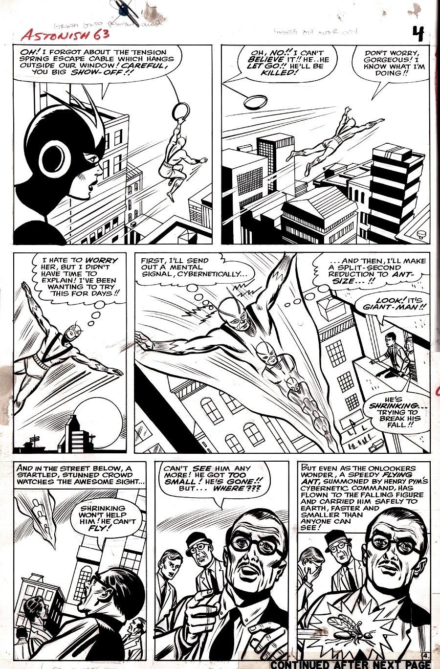 Tales to Astonish #63 p 4 (Large Art) 1964