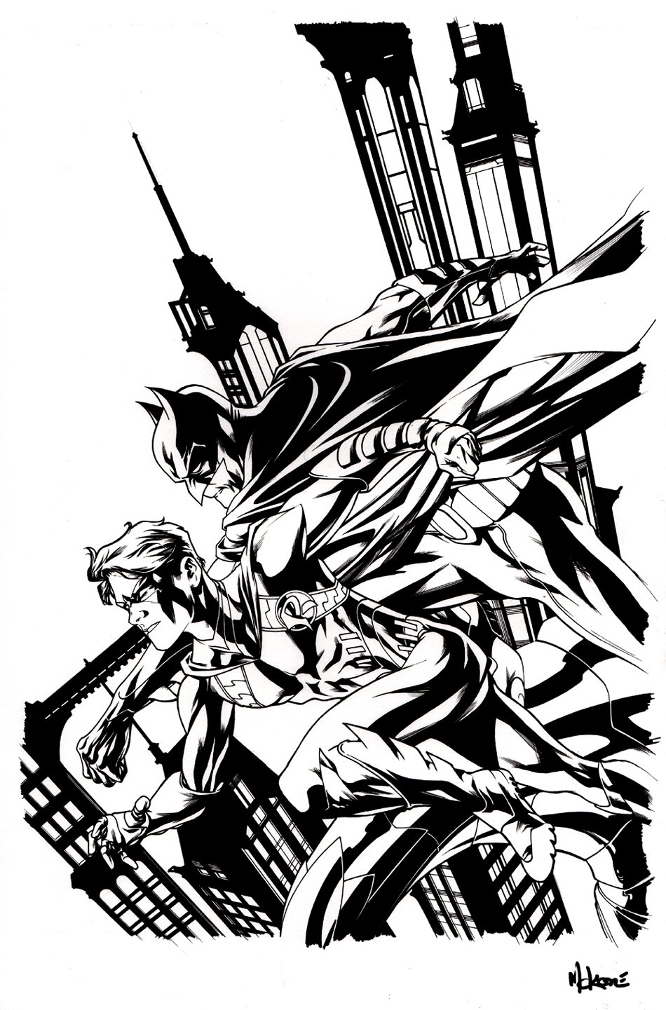 Batman and Robin Annual #2 Cover (2013)