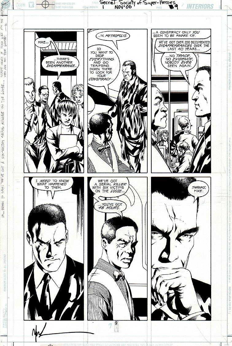 JLA: Secret Society of Super-Heroes #1 p 9 (2000)