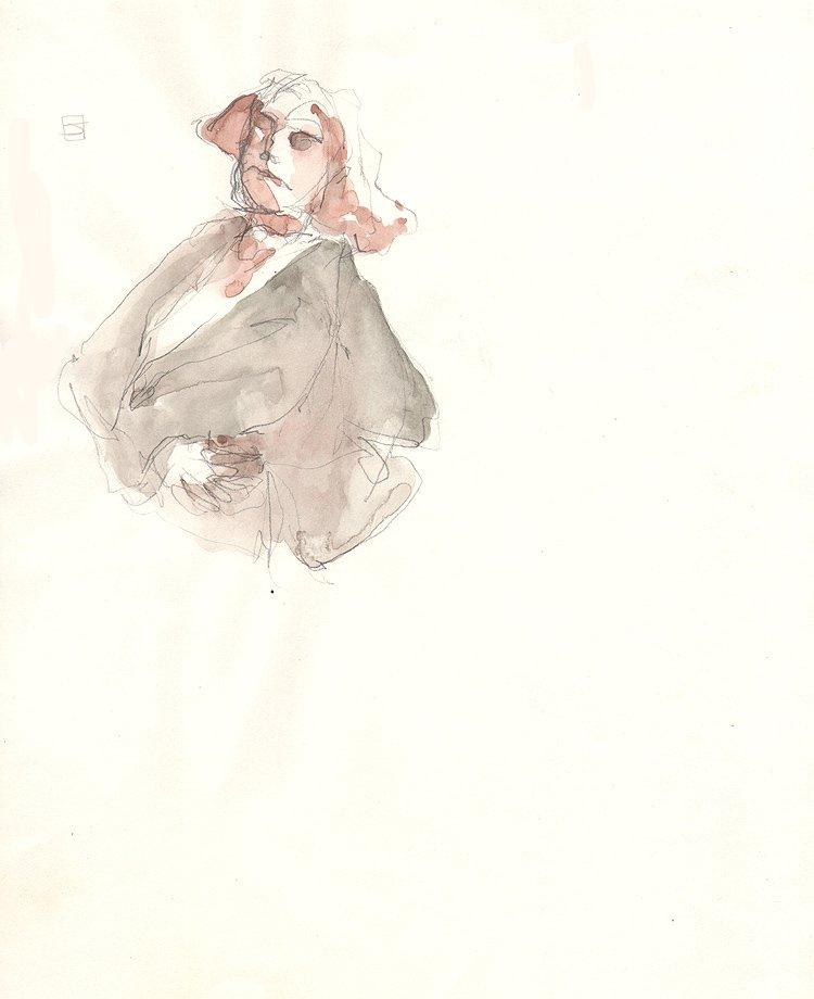 George Washington Watercolor Illustration