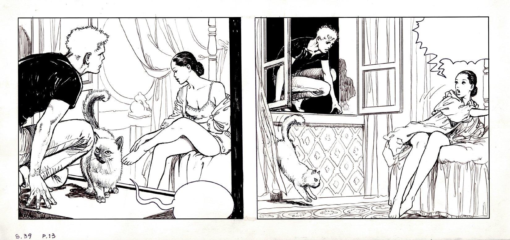Manara, Milo - Il Gioco 4 (Click 4 Le Declic 4 Strip S39 P13, Ms. Claudia Cristiani)
