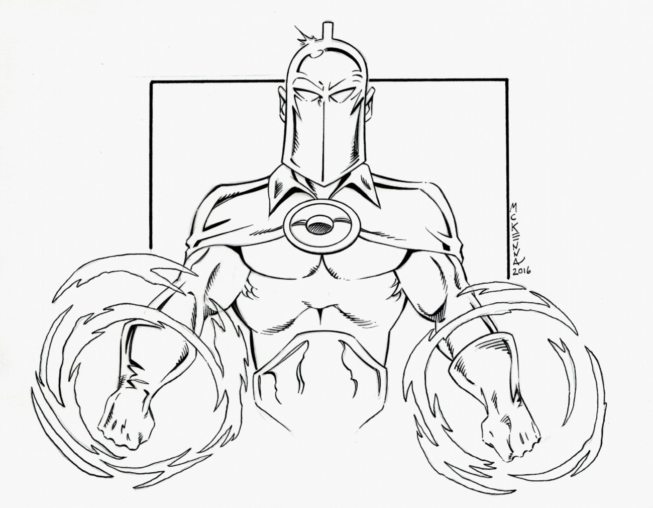 Dr. Fate Pinup (2016)