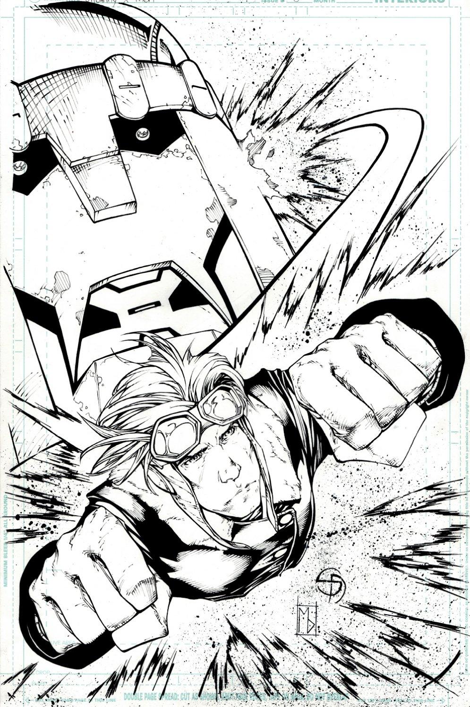 Uncanny X-Men #5 (624) Cover (CANNONBALL!) 2018