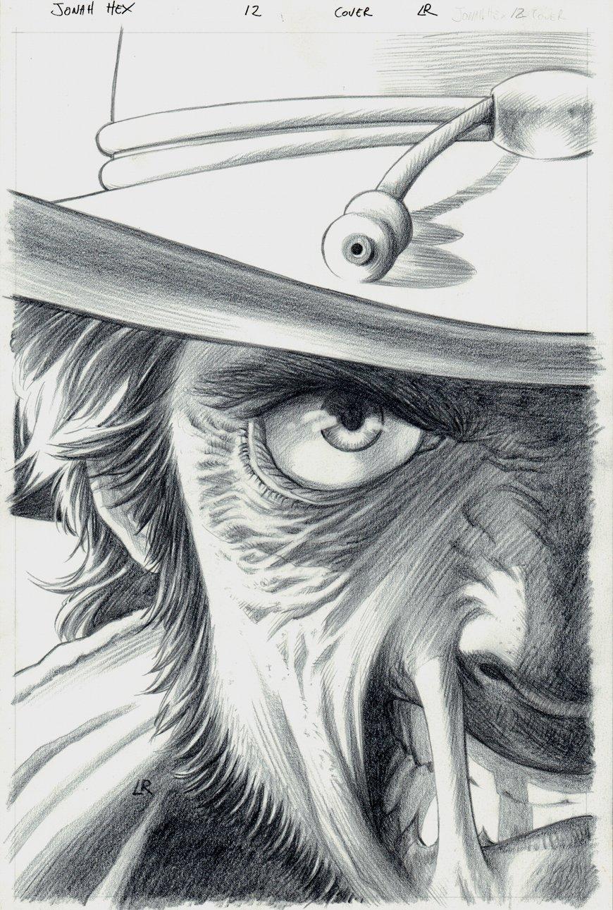 Jonah Hex #12 Cover (2006)