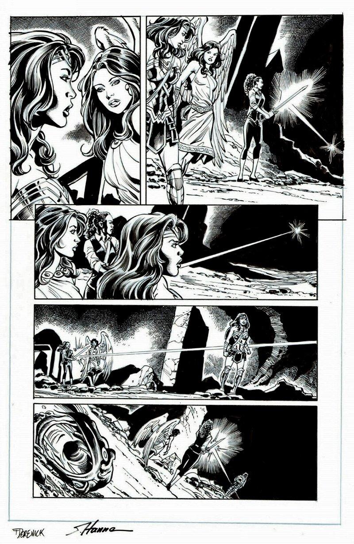 Wonder Woman #72 p 19 (Wonder Woman, Aphrodite, Maggie!) 2019