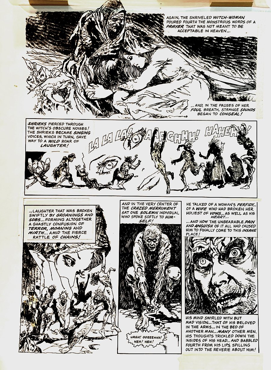 Eerie #63 p 5 (COOL HORROR PAGE!) 1974