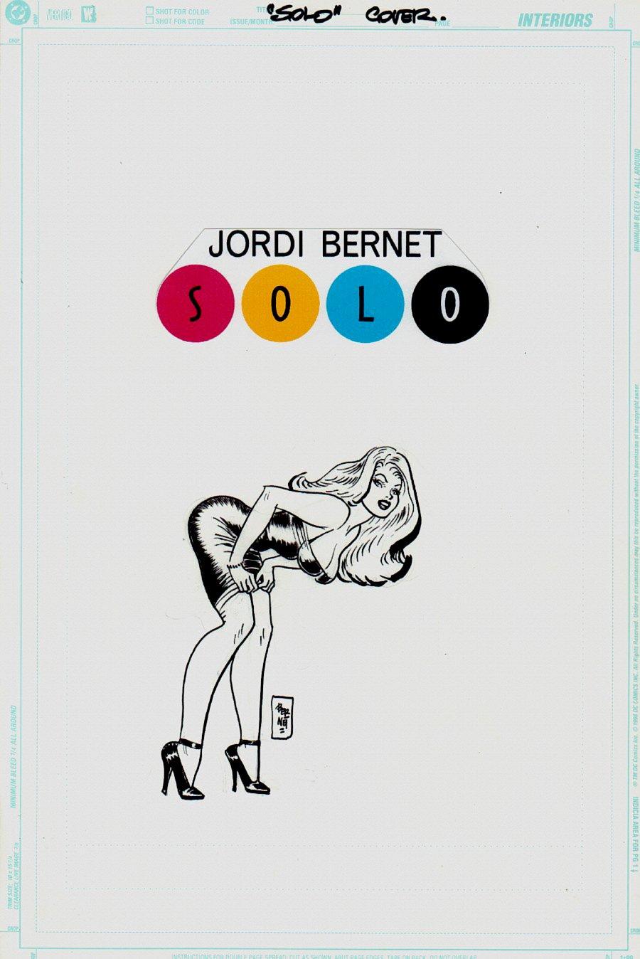 Solo #6 DC Cover (2005)