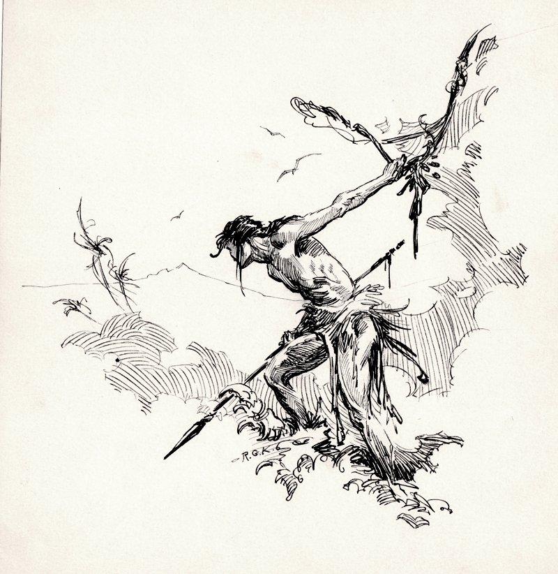 Tarzan Illustration (1950s-60s)