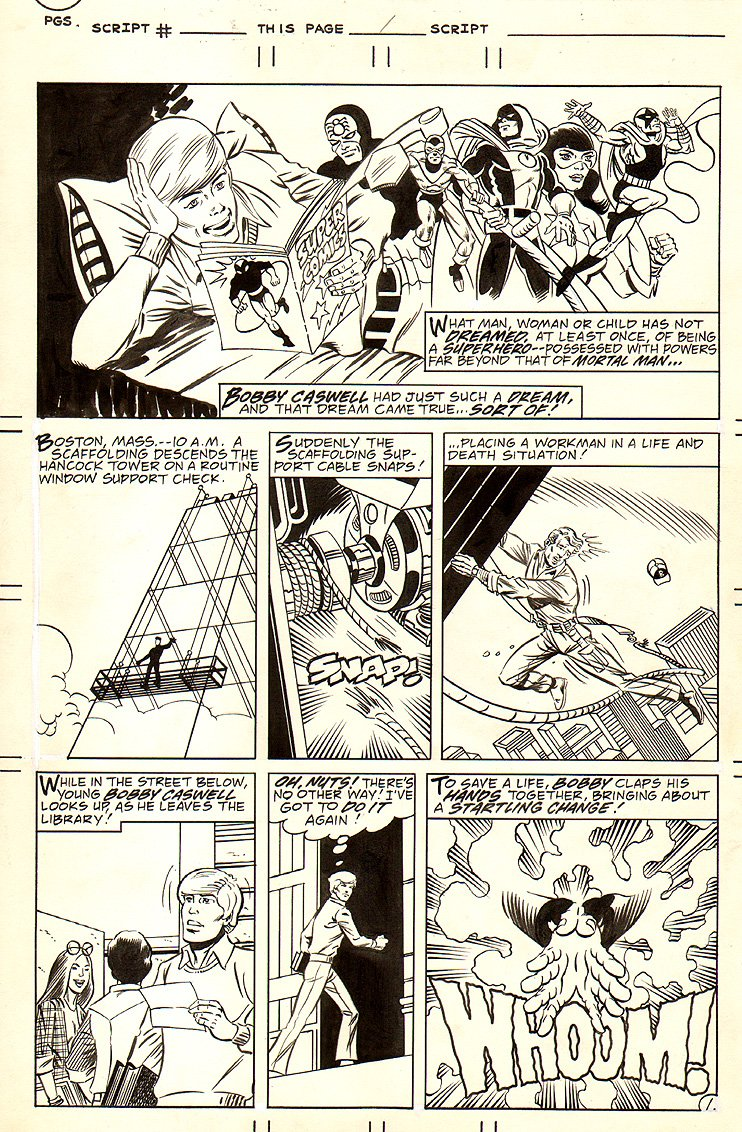 Charlton Bullseye #6.... 7 Pages To Story (1981)