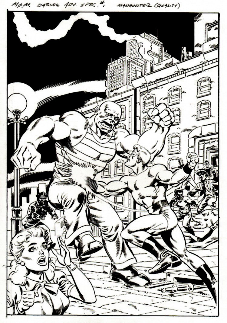 Men of Mystery Daring Adventures Special #1 Cover