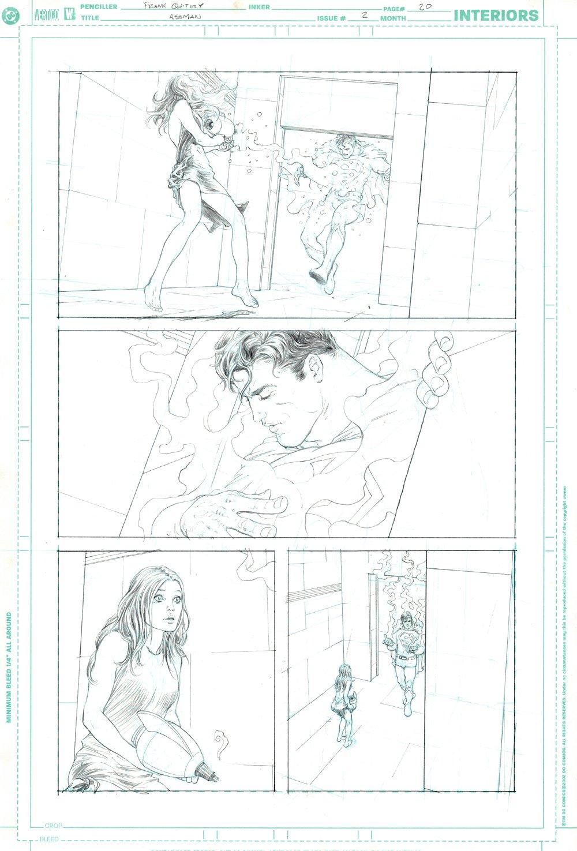 All Star Superman #2 p 20 (LOIS TRIES TO KILL SUPERMAN!) 2005