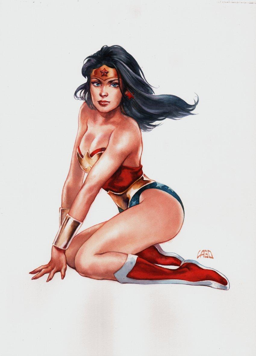 Sexy Wonder Woman Painting