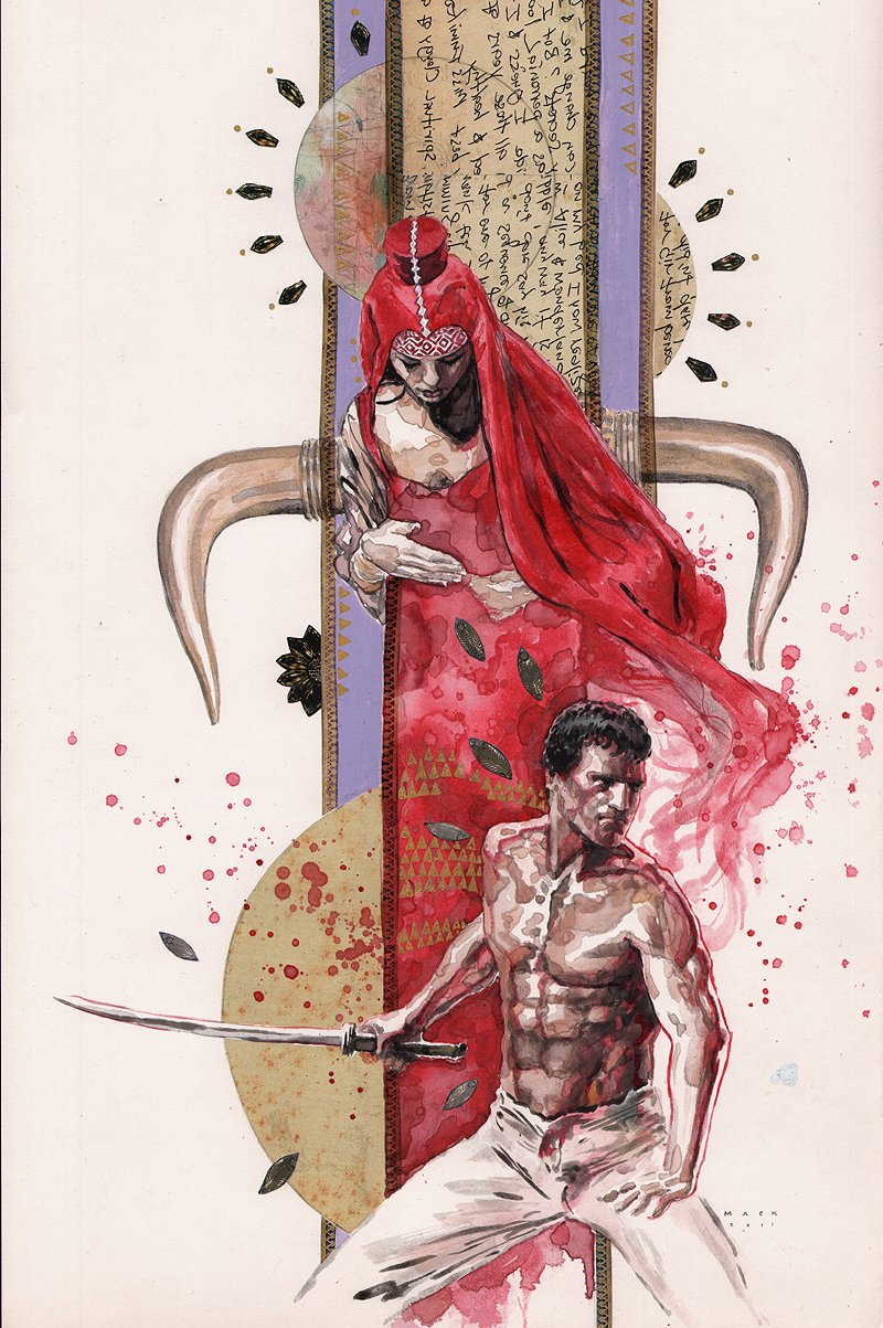 Immortals Cover Painting