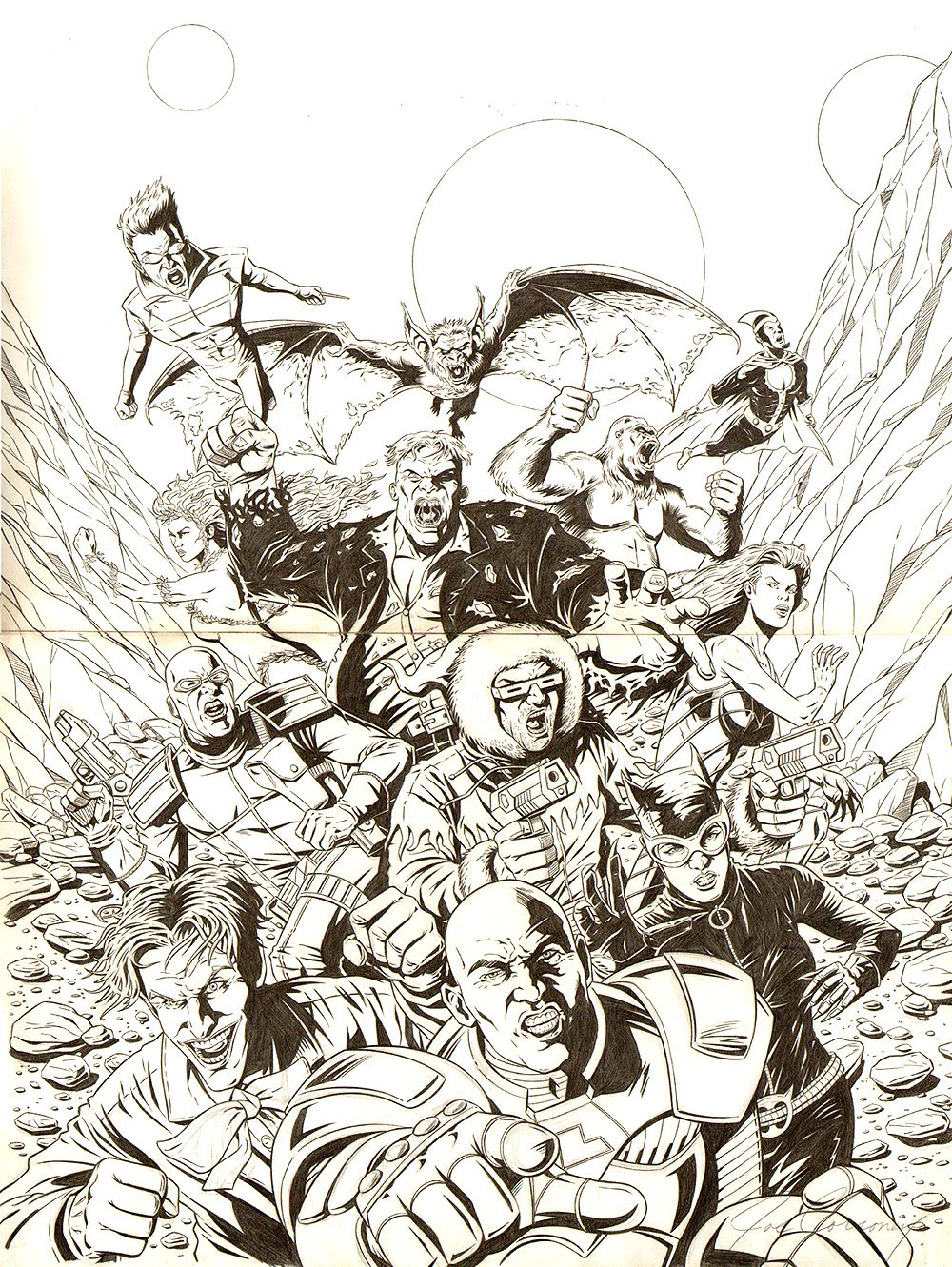Salvation Run #1 Double Cover (2007)