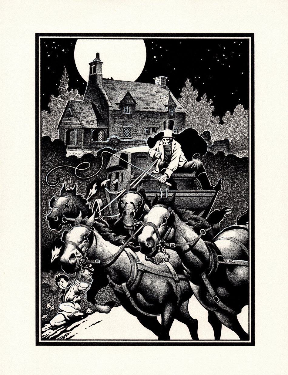 Guinevere & Lancelot Very Detailed Published Frontispiece (1986)