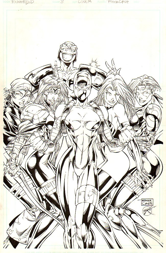 Youngblood #3 Cover (1995)