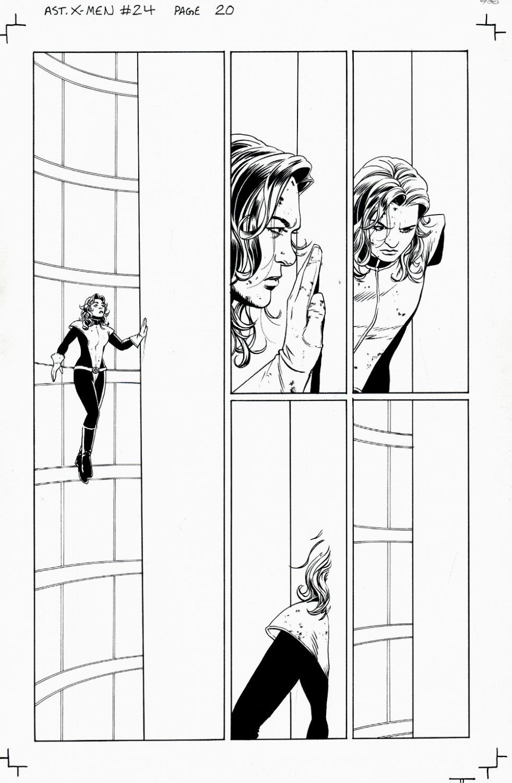 Astonishing X-Men #24 p 20 (Shadowcat [Kitty Pryde] In Every Panel!) 2008