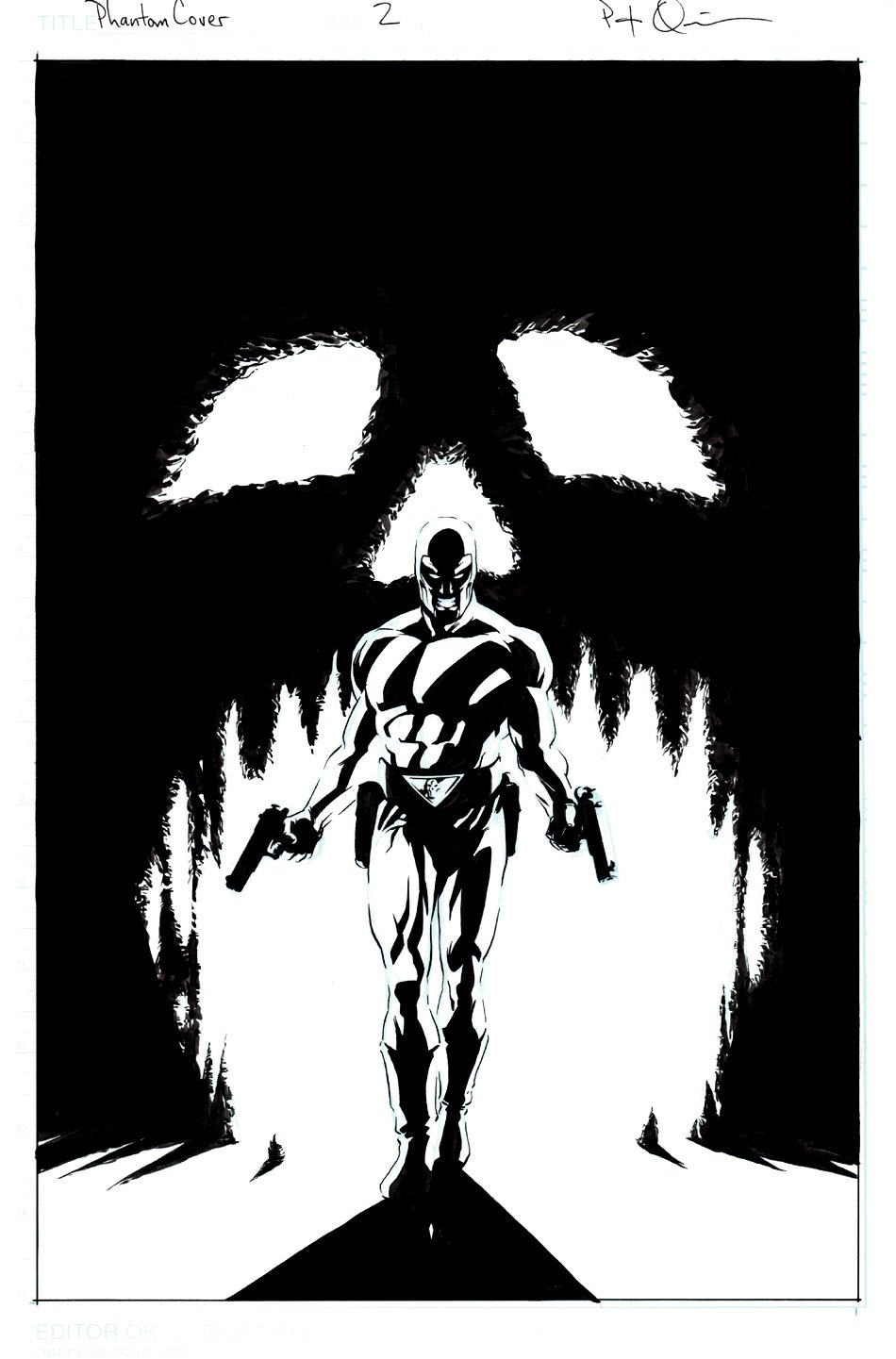 The Phantom #2 Cover (2003)