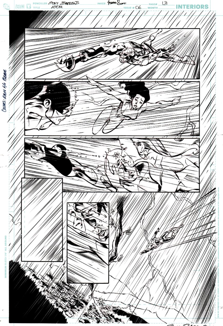 All New Atom #6 p 13 (ATOM ACTION PAGE!) 2007