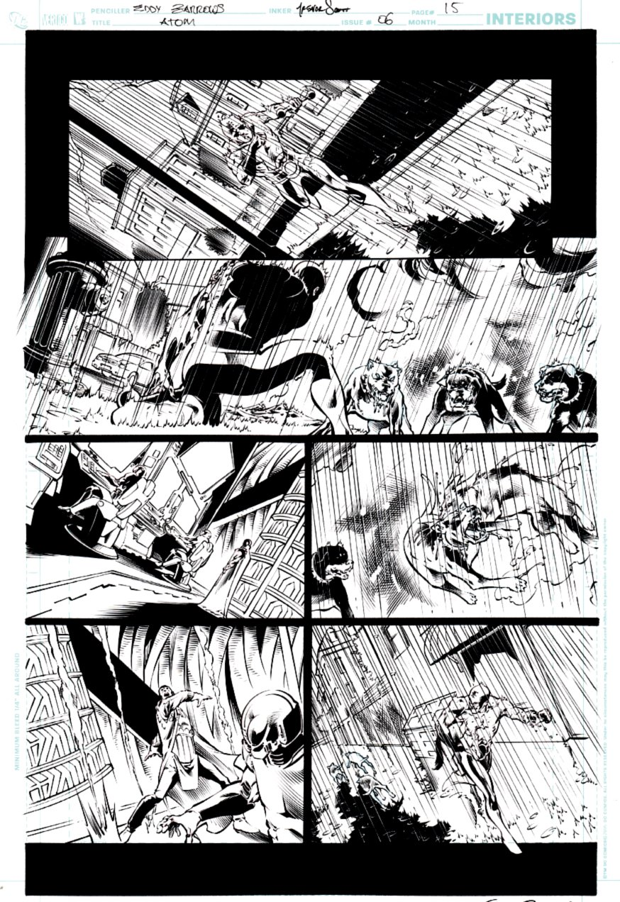 All New Atom #6 p 15 (ATOM ACTION PAGE!) 2007