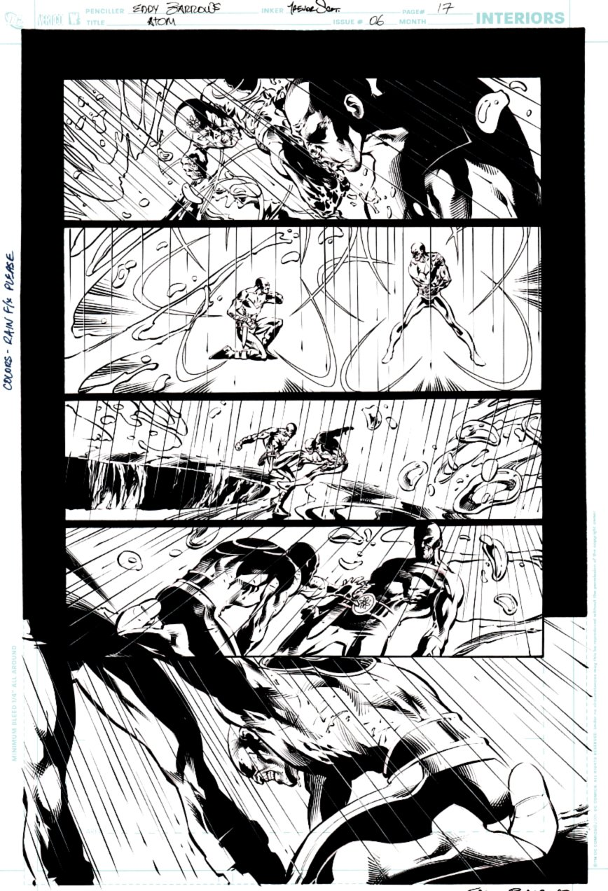 All New Atom #6 p 17 (ATOM ACTION PAGE!) 2007