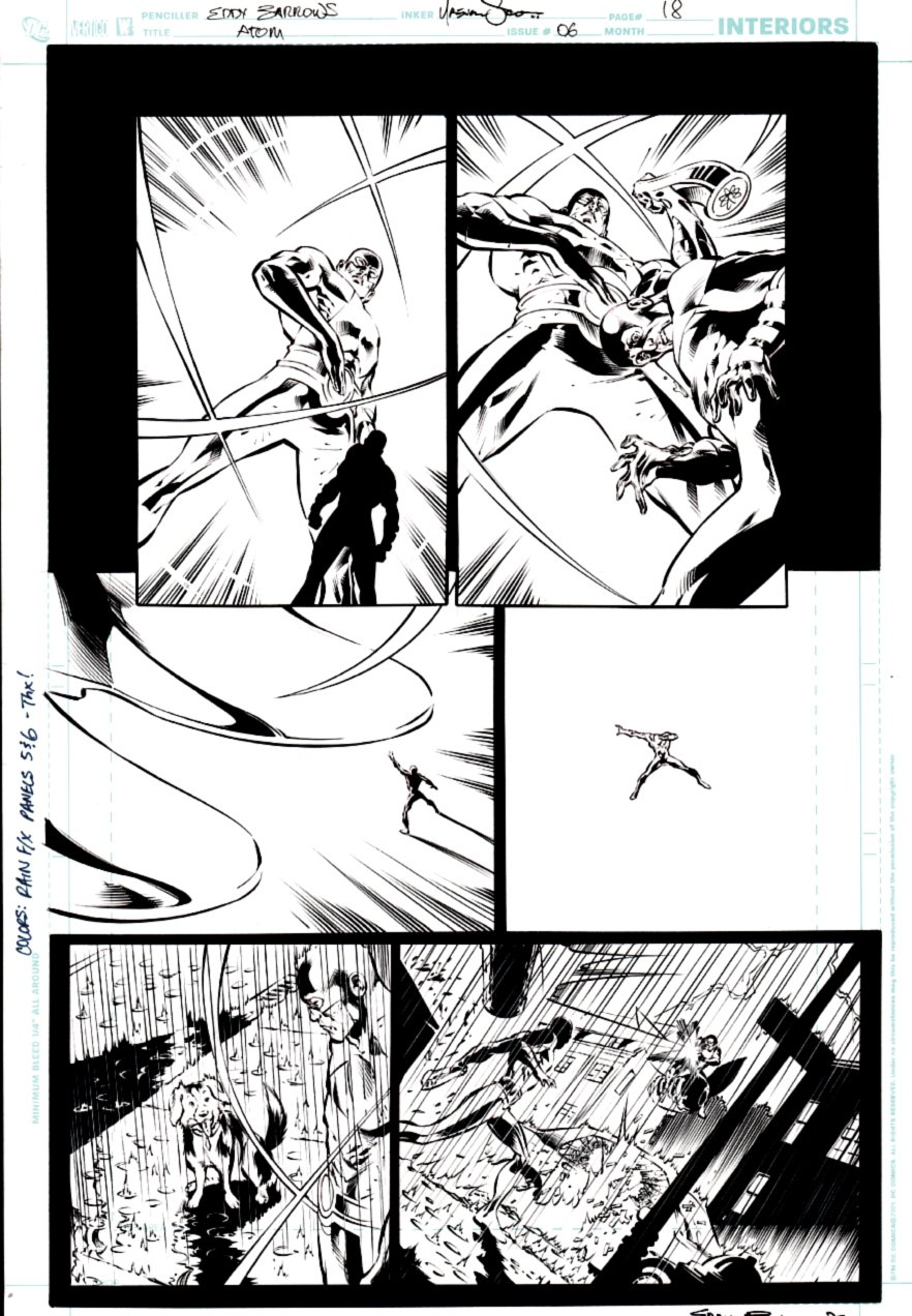 All New Atom #6 p 18 (ATOM ACTION PAGE!) 2007