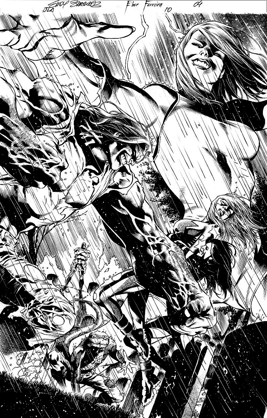 Justice League of America #10 p 9 SPLASH 2013