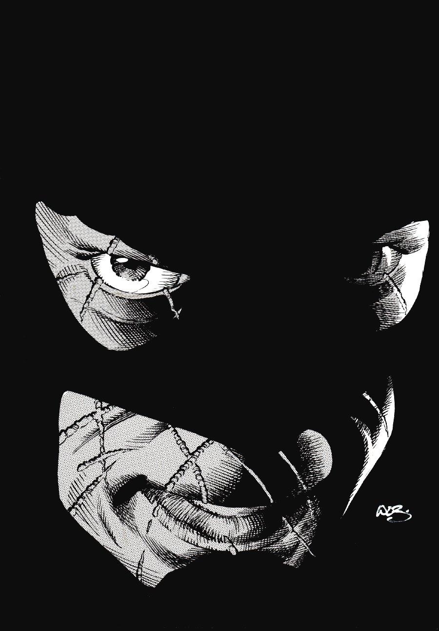 Batman Close Up Pinup
