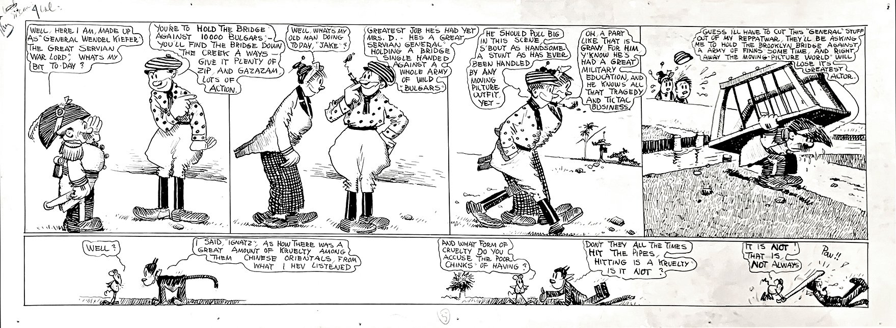 PRE-Krazy Kat...Crazy Kat Strip! Large - 1912