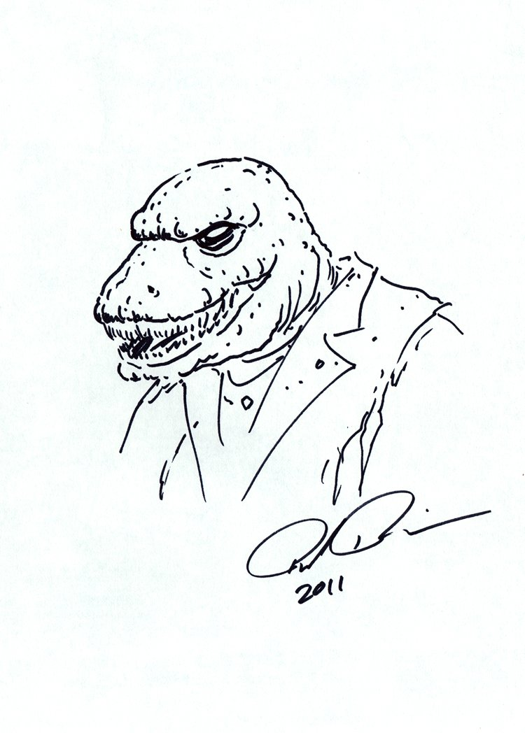 Lizard Pinup SOLD LIVE ON 'DUELING DEALERS PRO-AM' EPISODE #7 PODCAST ON 9-14-2021 (RE-WATCH THIS FUNNY ART SELLING SHOW HERE)