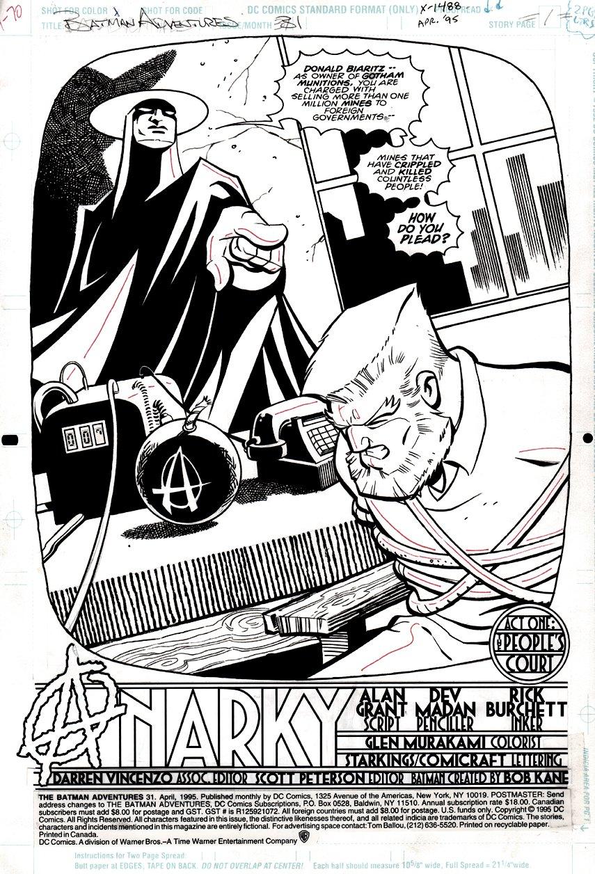 Batman Adventures #31 p 1 SPLASH (1994)