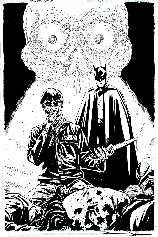 Detective Comics #865 p 1 SPLASH (Batman & Dr. Death Watch Jeremiah Arkham KILL!) 2010