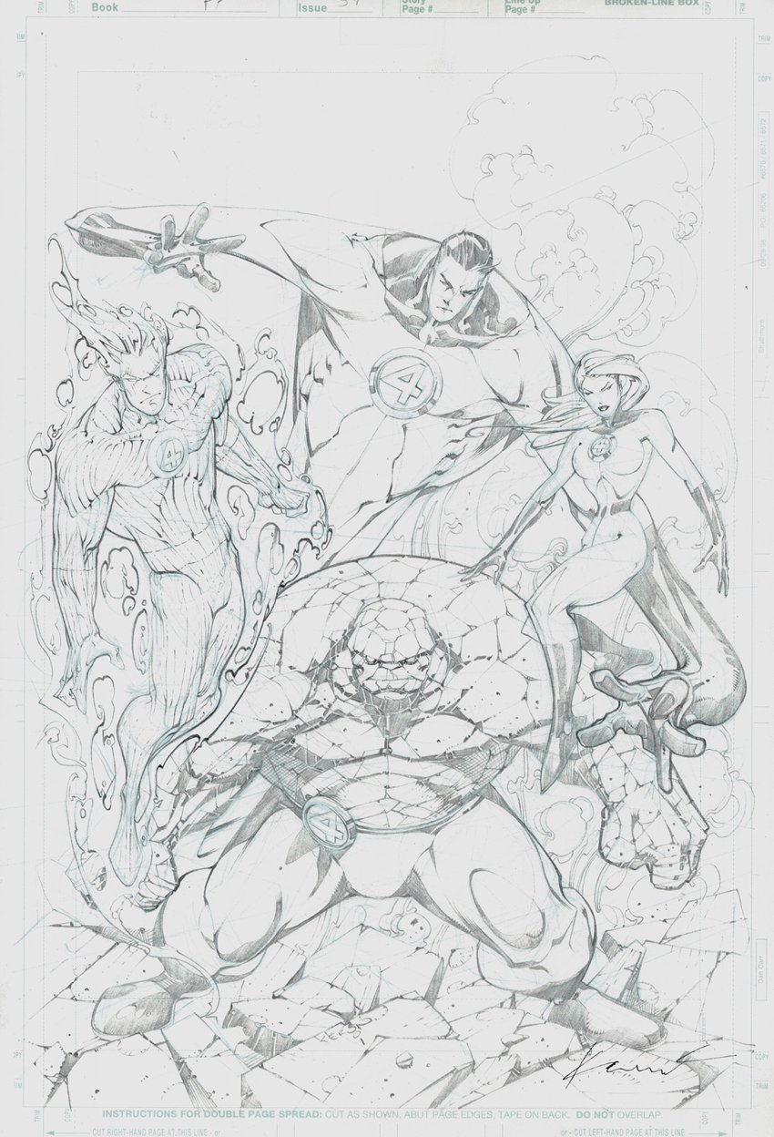 Fantastic Four 59 Unpublished Cover