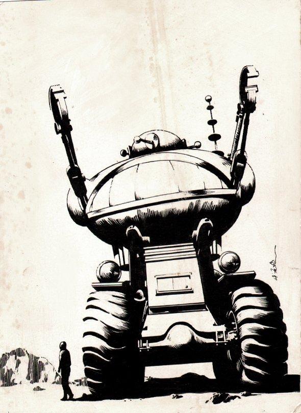 Analog Science Fiction Illustration (1960s)