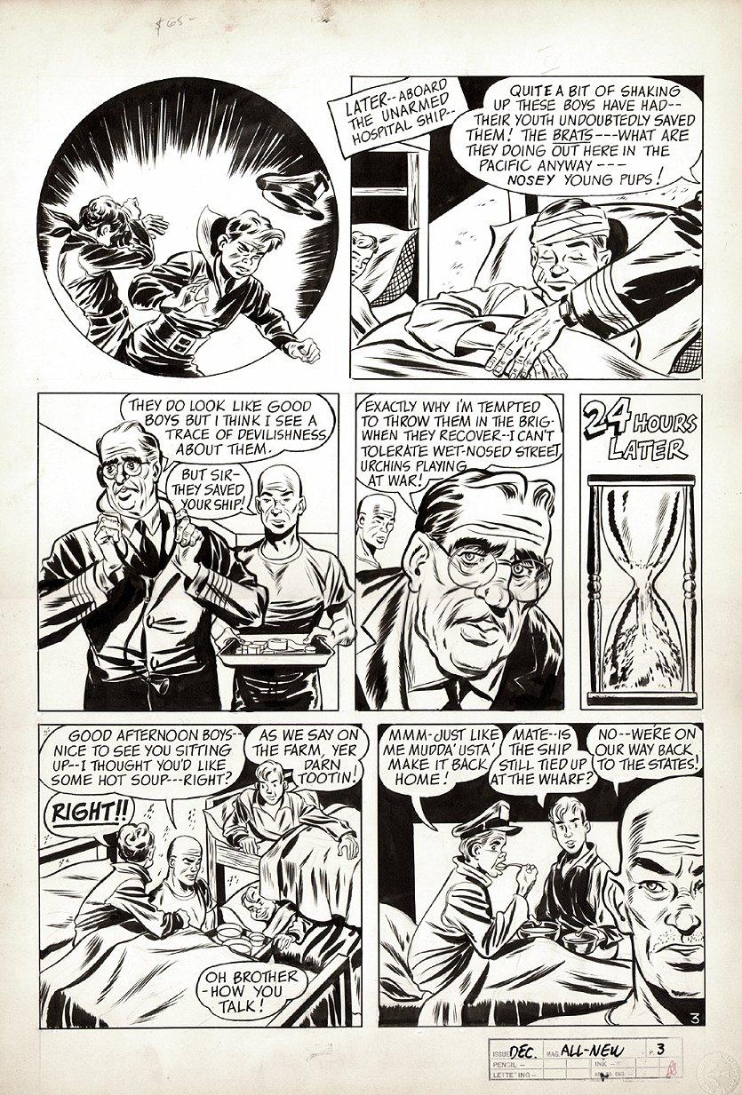 All-New Comics #6 p 3 (World War 2 Battle Pg) 1943