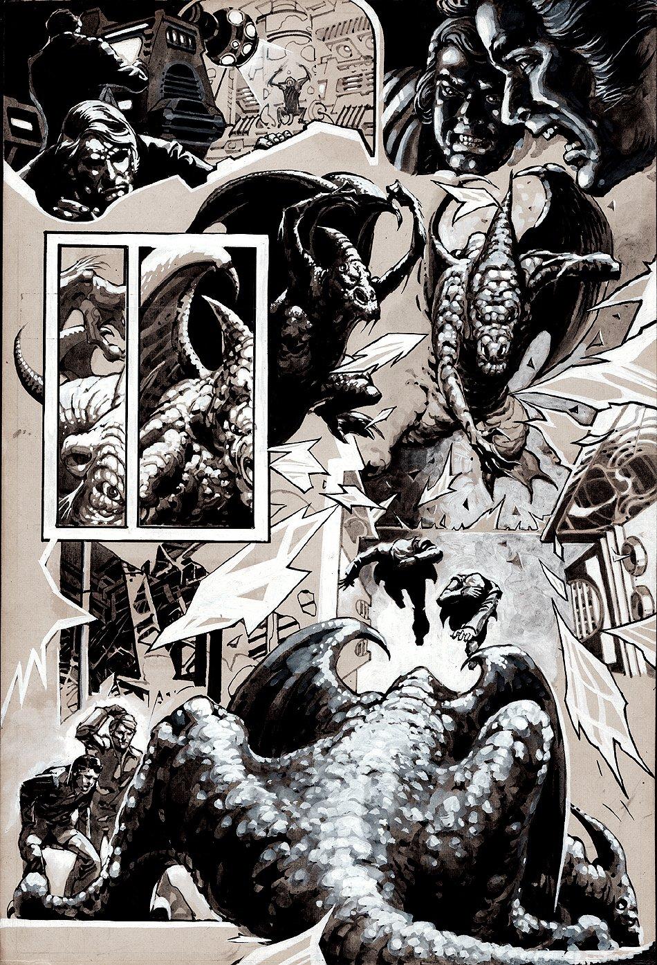 Creepy #141 p 2 Wash-Tone Art (1982)